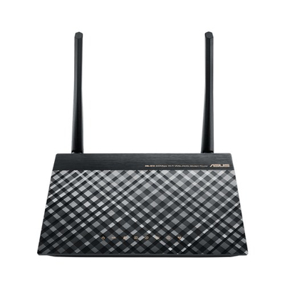Asus wireless router: DSL-N16 - Zwart