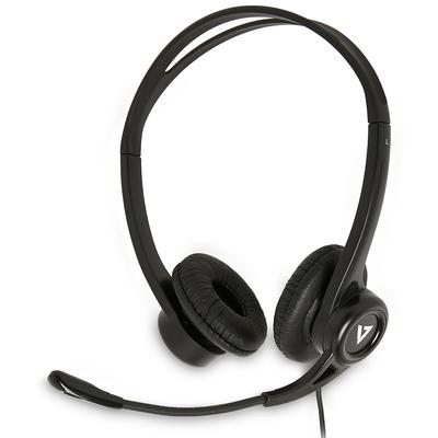 V7 HU311-2EP Headset - Zwart