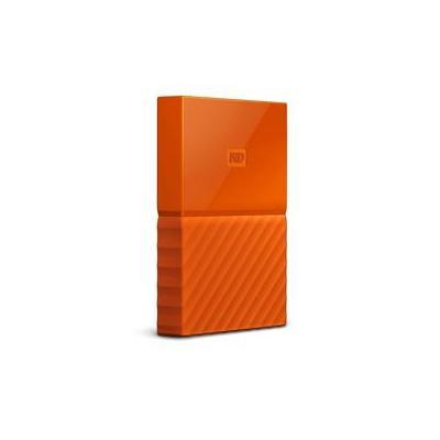 Western digital externe harde schijf: My Passport 4TB - Oranje