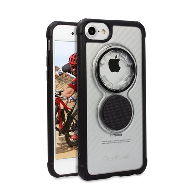 Rokform 304520P Mobile phone case - Zwart, Transparant