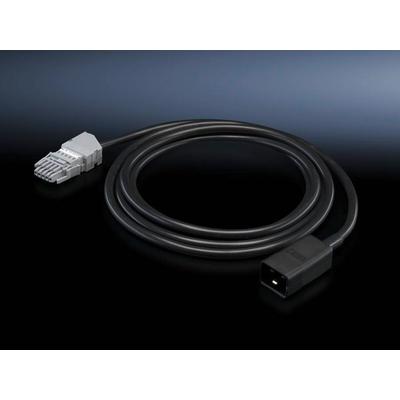 Rittal DK 7856.030 Electriciteitssnoer - Zwart