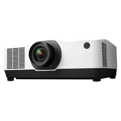 NEC PA1004UL-WH Projector + NP41ZL Lens, LCD, 1920 x 1200, 16:10, VGA, DisplayPort, HDMI, Ethernet, RS-232 Beamer - .....