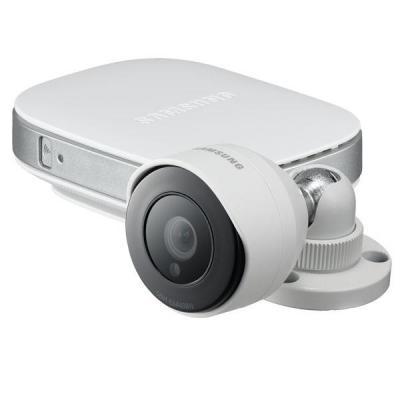 Samsung beveiligingscamera: SNH-E6440BN - Wit