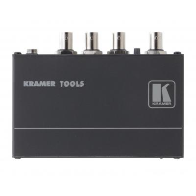 Kramer Electronics 1 x BNC IN, 3 x BNC OUT, 1.8 Vpp, 430 MHz, 74.3 dB, 12V DC, 280 g .....