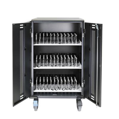DELL 210-ASCF Portable device management carts & cabinet - Zwart
