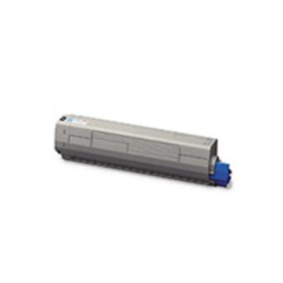 OKI Gelecartridge met grote capaciteit Toner - Geel
