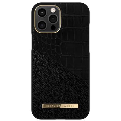 IDeal of Sweden Atelier Backcover iPhone 12 Pro Max - Nightfall Croco - Nightfall Croco Mobile phone case