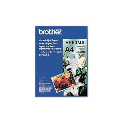 Brother papier: BP60MA Inkjet Paper - Wit