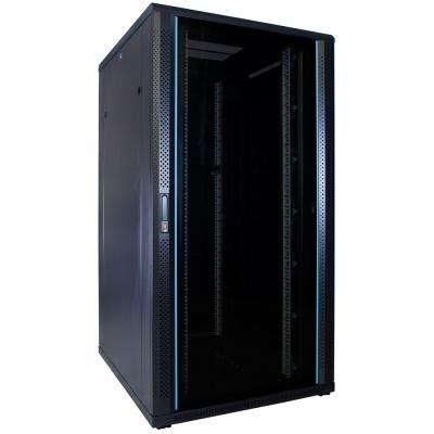 DS-IT 32U serverkast met glazen deur 800x1000x1600mm (BxDxH) Stellingen/racks
