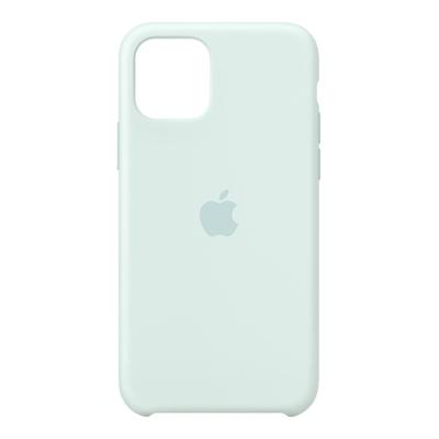 Apple Siliconenhoesje voor iPhone 11 Pro - Zachtgroen Mobile phone case - Aqua-kleur