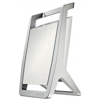 Leitz houder: 65 x 125 x 75 mm, 0.22 kg - Zilver, Wit