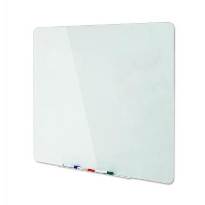 Bi-Office Glass Magnetic Dryerase Writing Board, 1500 x 1200 mm Magnetisch bord - Wit