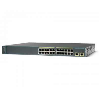 Cisco switch: Catalyst 2960 - Zwart (Refurbished LG)