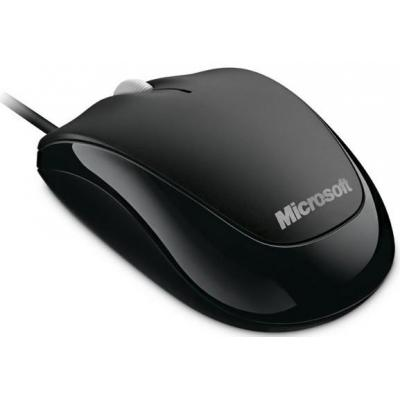 Microsoft 500 computermuis - Zwart