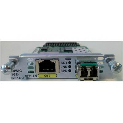 Cisco netwerk switch module: 1-port Gigabit Ethernet, dual-mode GE/SFP, Network Interface Module
