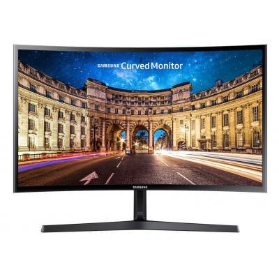 Samsung monitor: LC27F396FHU - Zwart