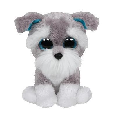 Ty stuffed toy: Whiskers - Grijs, Wit