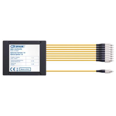 Spaun 815038 Kabel splitter of combiner - Zwart