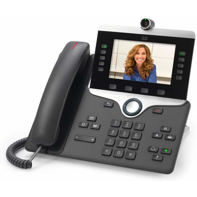 Cisco 8845 IP telefoon - Zwart