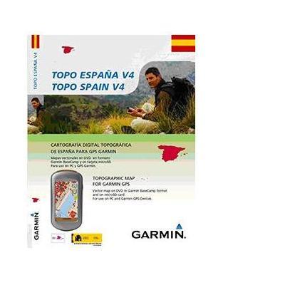 Garmin map update: TOPO Spain v4, DVD/microSD/SD