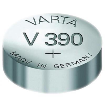 Varta batterij: -V390 - Zilver