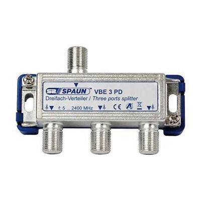 Spaun VBE 3 PD Kabel splitter of combiner - Metallic