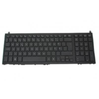 Hp notebook reserve-onderdeel: Keyboard for use in Iceland on computers with 15-in displays - Zwart