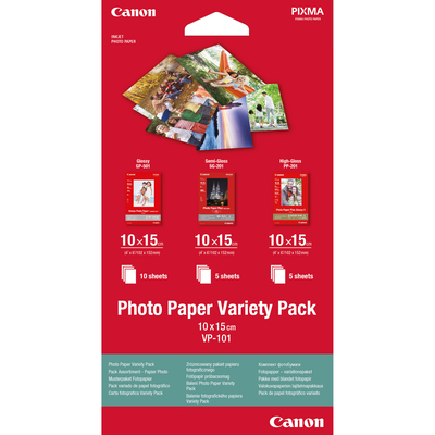 Canon fotopapier: Photo Paper Variety Pack