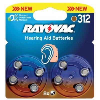 Rayovac RAY-312B-8P batterij