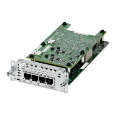 Cisco voice network module: 4-Port BRI Network Interface Module