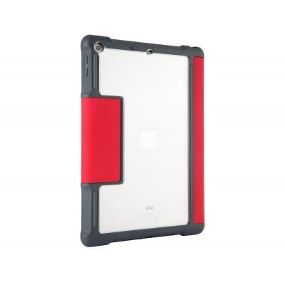 STM DUX voor iPad 2018 Tablet case - Grijs, Rood, Transparant