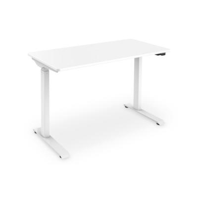 ASSMANN Electronic Electric, height-adjustable, 120x60x18cm, 50kg load, white Bureau - Wit