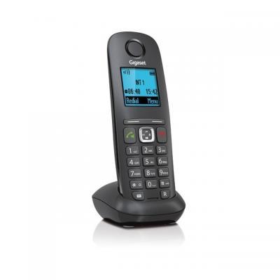 Gigaset telephone headset: A540H - Zwart