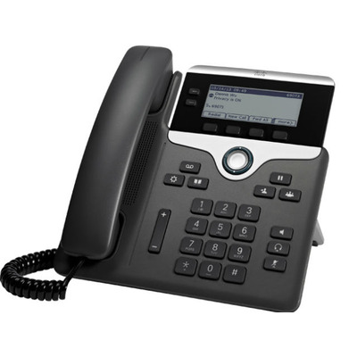 Cisco IP telefoon: 7811 - Zwart, Zilver