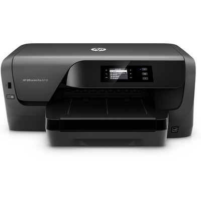 Hp inkjet printer: Officejet Officejet Pro 8210 - Zwart, Cyaan, Magenta, Geel