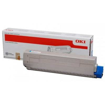 OKI toner: Cyan Toner Cartridge - Cyaan