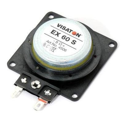 Visaton Speaker: VS-EX60S - Zwart