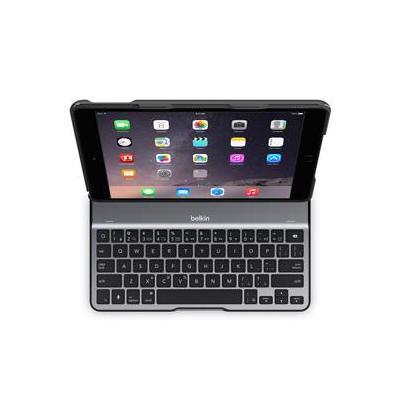 Belkin mobile device keyboard: QODE Ultimate Lite Keyboard Case for iPad Air 2 - Zwart, QWERTY
