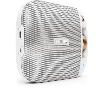 Philips draagbare luidspreker: draadloze draagbare luidspreker BT2600W/00 - Wit