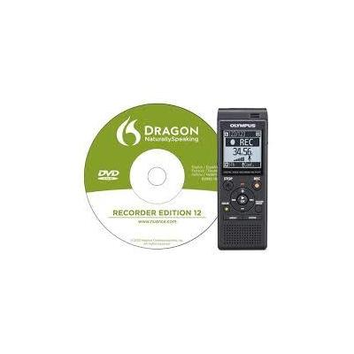 Olympus voice recorder: VN-741PC - Zwart