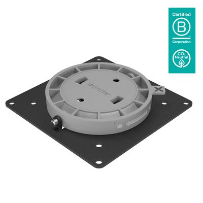 Dataflex Viewgo Cpu steun - Zwart, Grijs