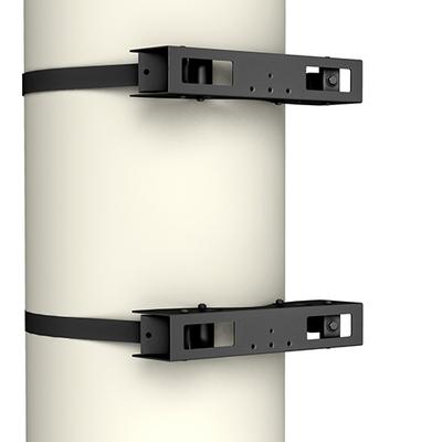 Chief Structural Column Adapter, max 90.7 kg, Black Muur & plafond bevestigings accessoire - Zwart