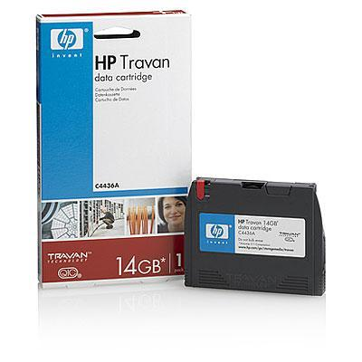 Hewlett Packard Enterprise Travan 14 GB Data Cartridge Datatape - Zwart