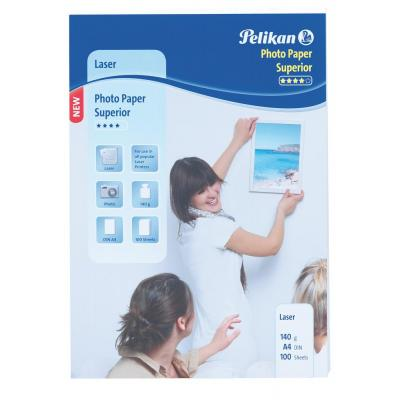 Pelikan fotopapier: Photo Paper Superior, A4, 140g, 100 sheets for Laser Printer