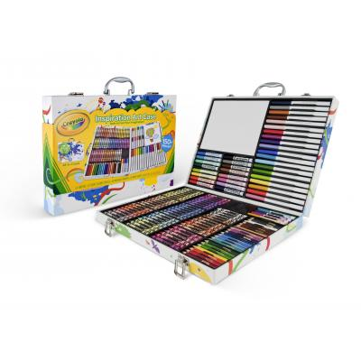 Crayola : Inspiratie kleurkoffer (140st.) - Veelkleurig
