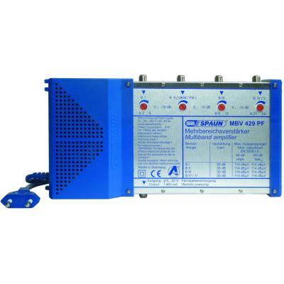 Spaun signaalversterker TV: MBV 429 PF - Blauw