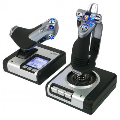 Logitech game controller: X52 Flight Control System