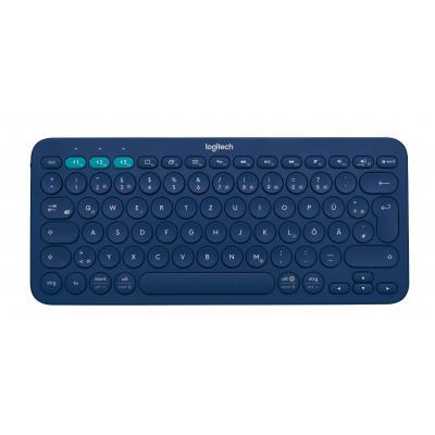 Logitech toetsenbord: K380 - Blauw, QWERTZ