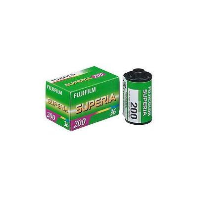 Fujifilm kleurenfilm: 1x3 Superia 200 135/36