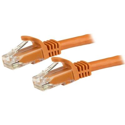 StarTech.com Cat6 patchkabel met snagless RJ45 connectors 3 m, oranje Netwerkkabel